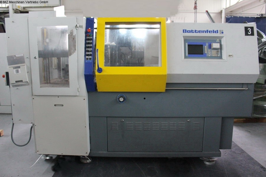 used machine Injection molding machine up to 1000 KN BATTENFELD BA 750 V 315 V