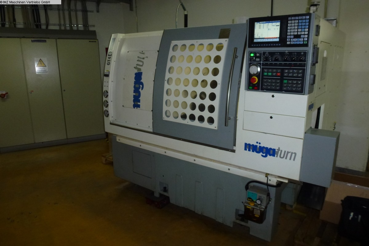 used CNC Lathe MUEGA GT4-42 S