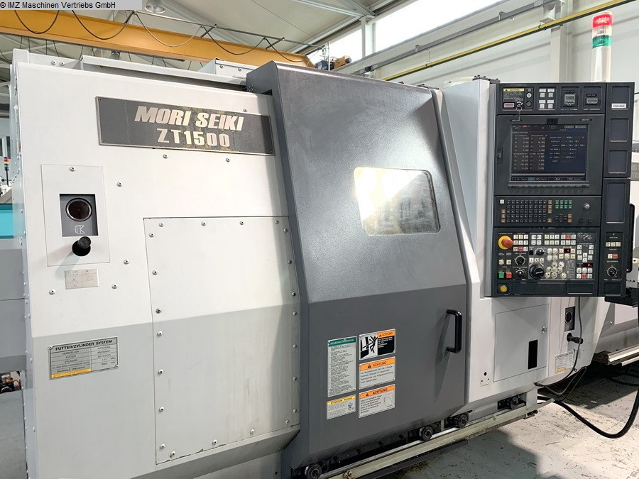 used  CNC Turning- and Milling Center MORI SEIKI ZT 1500 Y