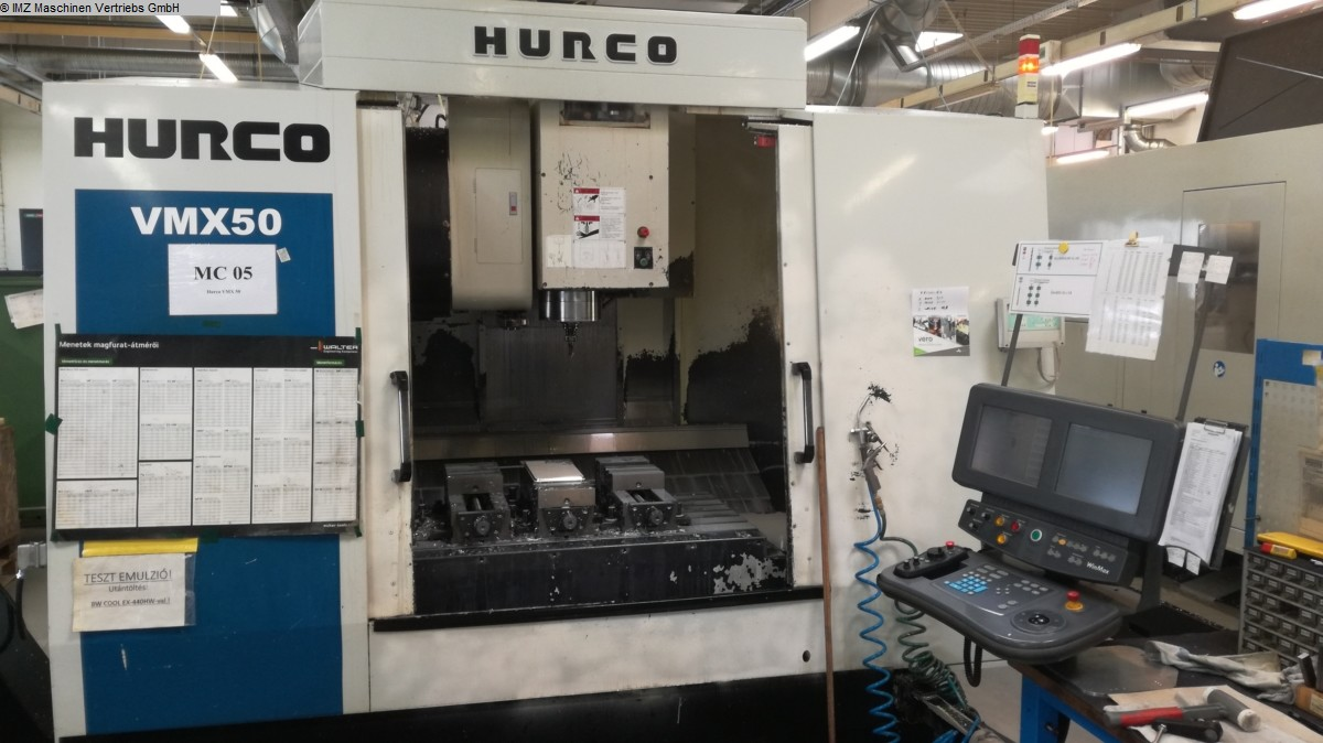 used Machining Center - Vertical HURCO VMX 50 / 40 T