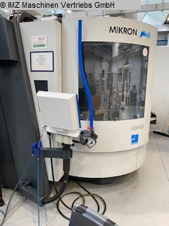 used  Machining Center - Vertical MIKRON HSM 600