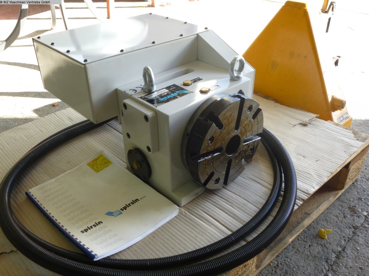 używany Inne akcesoria do obrabiarek Stół obrotowy SPISIN 81125 F / 200 HR