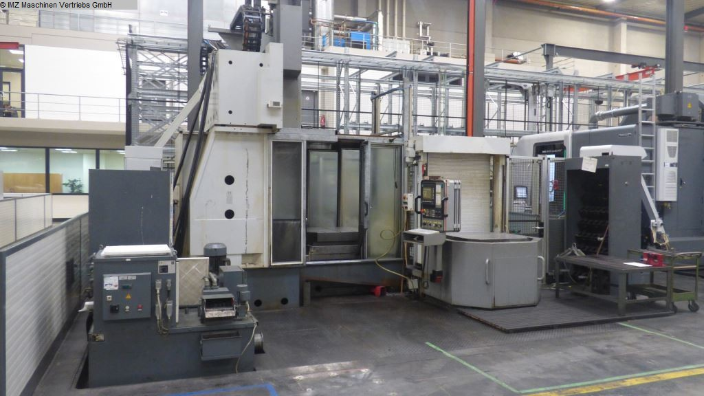 used Universal Milling and Boring Machine MIKROMAT 8 VF