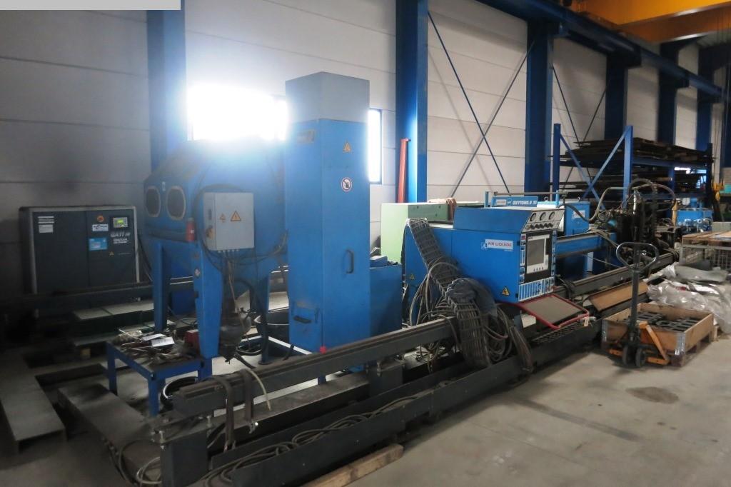 gebrauchte Maschine CNC Plasma-Schneidanlage SAF Oxytome.B 20253040