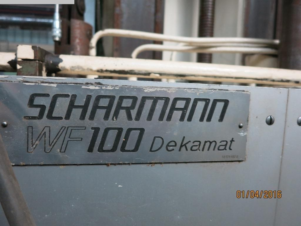 Photo 1 SCHARMANN WF100NC Dekamat