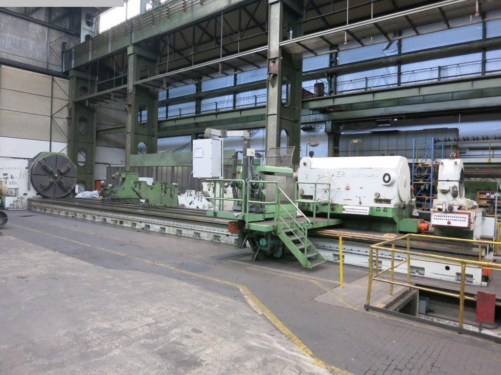 gebrauchte Maschine Schwerdrehmaschine WAGNER D1500-15IV-100