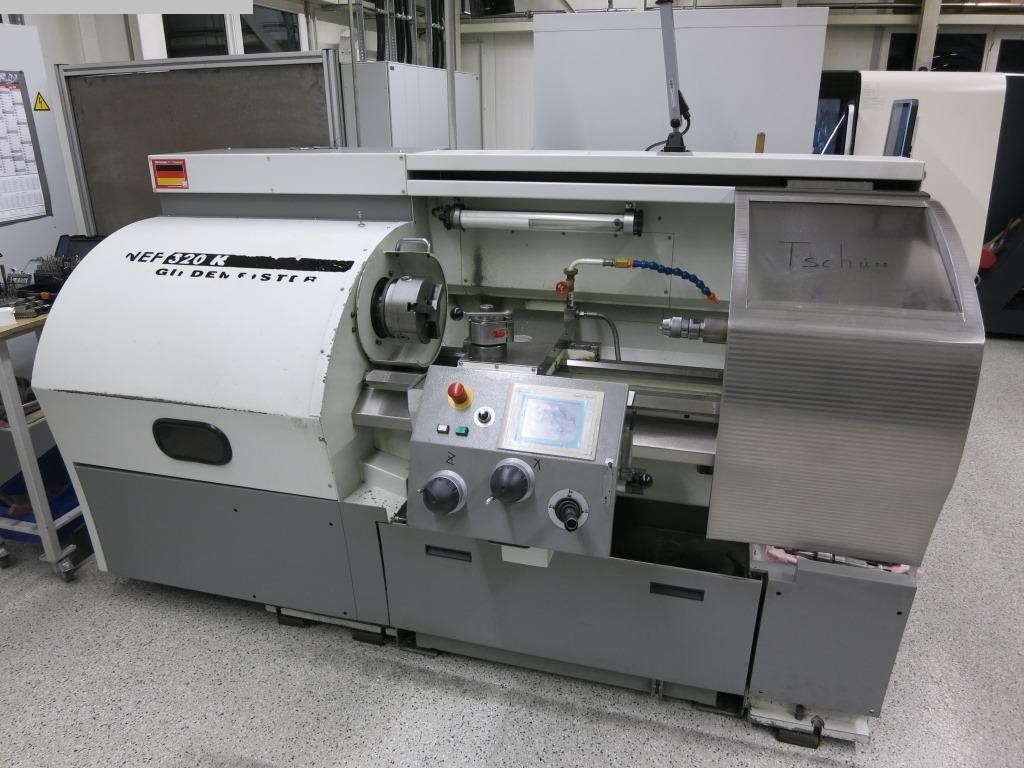 gebrauchte Maschine Drehmaschine - zyklengesteuert GILDEMEISTER NEF 320 K