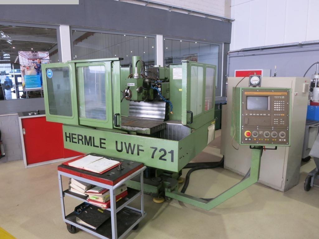 gebrauchte Maschine Universal-Fräs- und Bohrmaschine HERMLE UWF 721