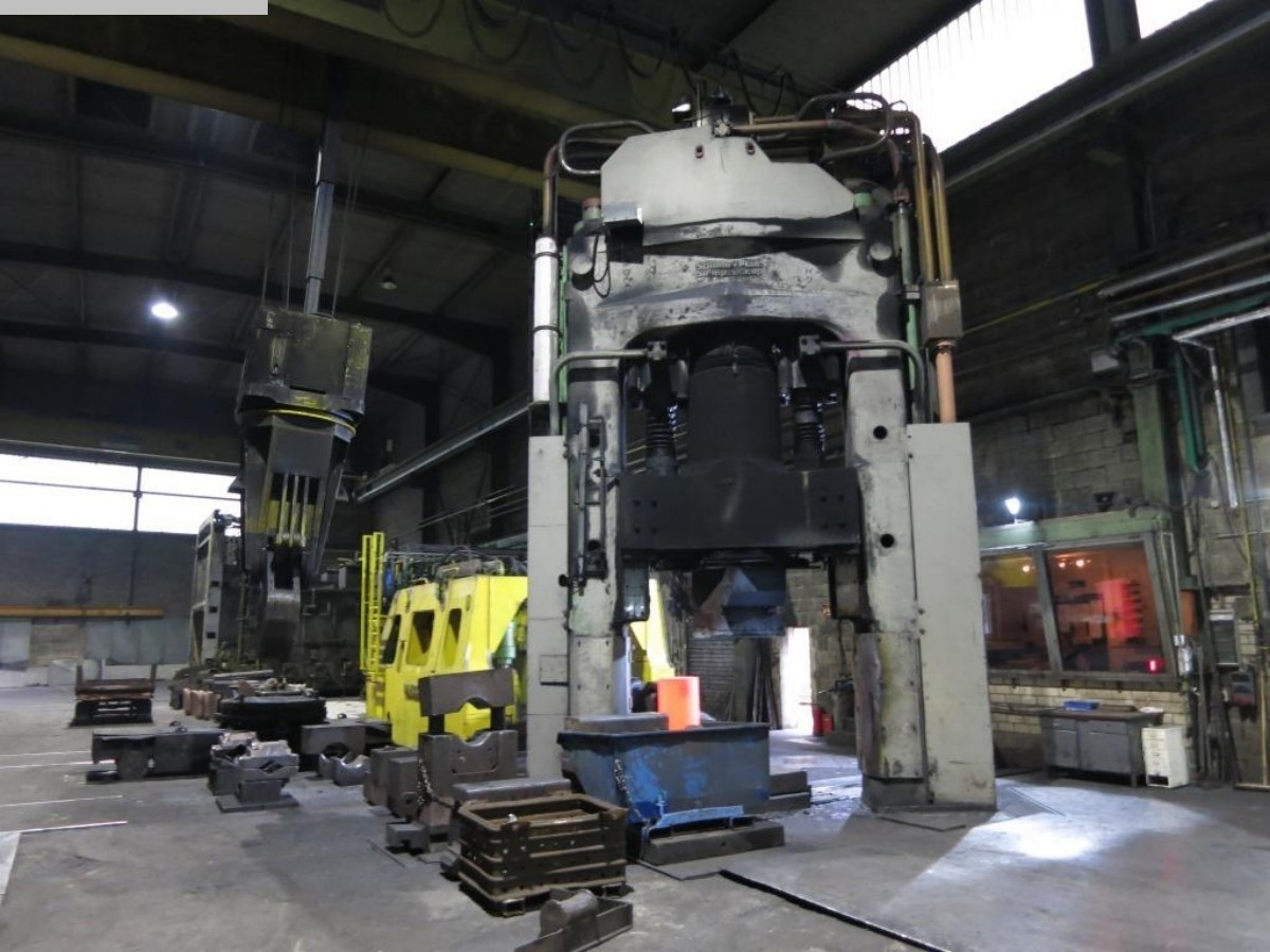 used machine Forging Press - Double Column Schirmer Plate Simpelkamp SPS 12000/16000 KN