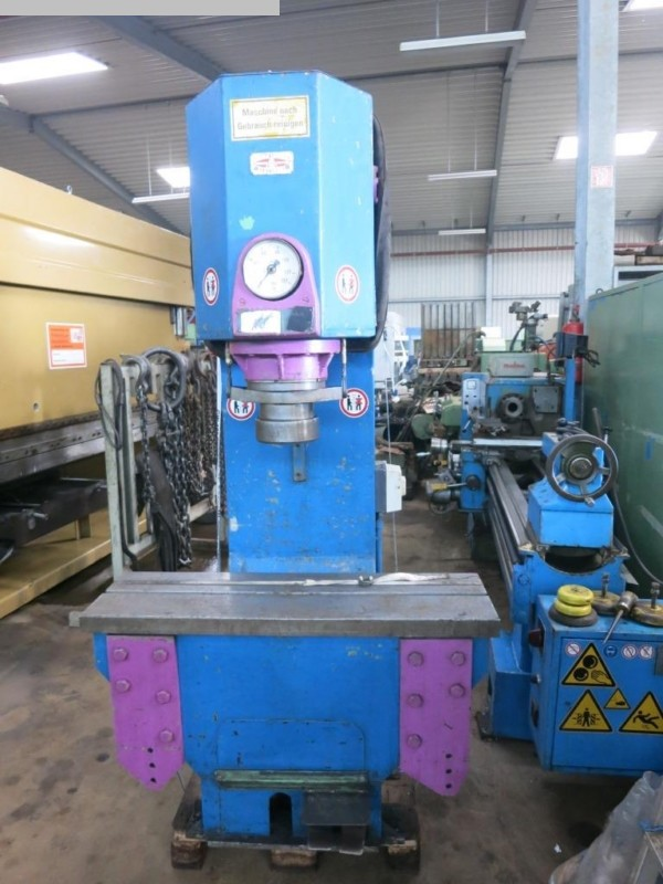 used Straightening Press - Single Column BLEY ERP 100