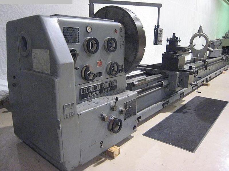 gebrauchte Maschine Leit- und Zugspindeldrehmaschine PONTIGGIA H700