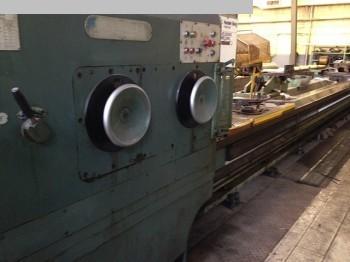gebrauchte Maschine Schwerdrehmaschine POREBA TCG 125/10m