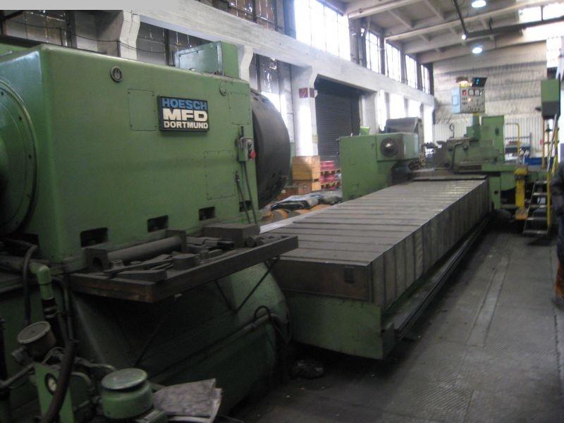 Máquina usada para calibrar rollos de torno MFD - HOESCH D1000 GY-YF