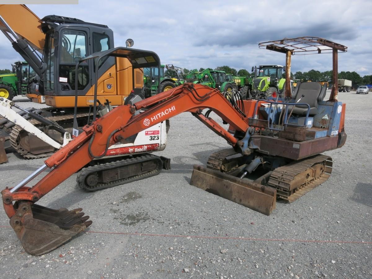 gebrauchte Bau- und Landmaschinen Radlader HITACHI EX26
