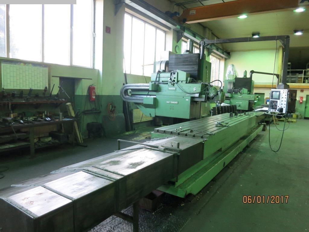 gebrauchte Fräsmaschinen Bettfräsmaschine - Universal ZAYER KF5000CNC