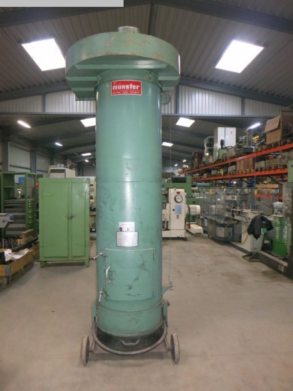 used Chip and dust extracting systems Deduster MUNSTER RAF 140/700