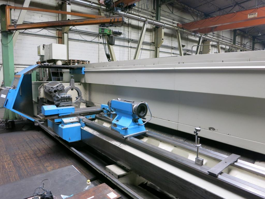 gebrauchte Drehmaschinen Drehmaschine - zyklengesteuert BOEHRINGER DNE 820/DL 5000