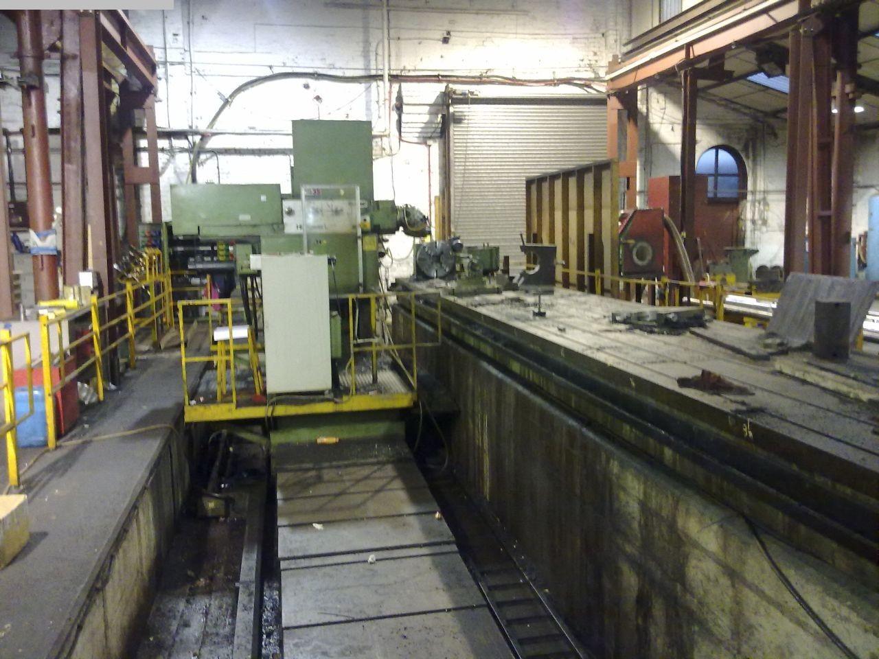 gebrauchte Fräsmaschinen Fahrständerfräsmaschine BUTLER-ELGAMILL Hi-POWER L
