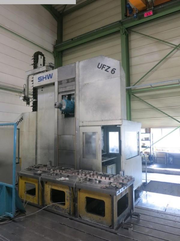 gebrauchte Fräsmaschinen Fahrständerfräsmaschine SHW UFZ 6 L