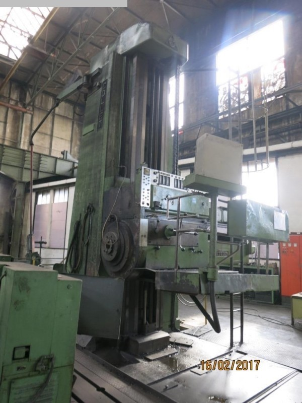 used Boring mills / Machining Centers / Drilling machines Floor Type Boring and Milling M/C - Hor. COLLET BFP 130