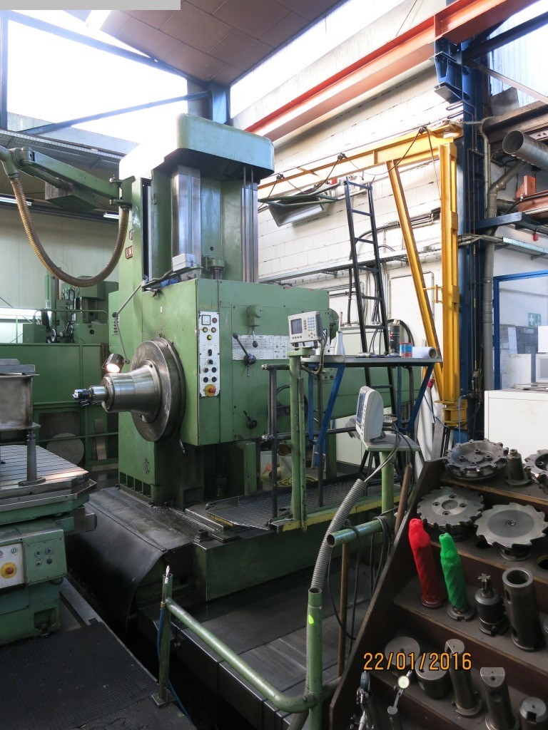 used Boring mills / Machining Centers / Drilling machines Floor Type Boring and Milling M/C - Hor. UNION BFP 125/5