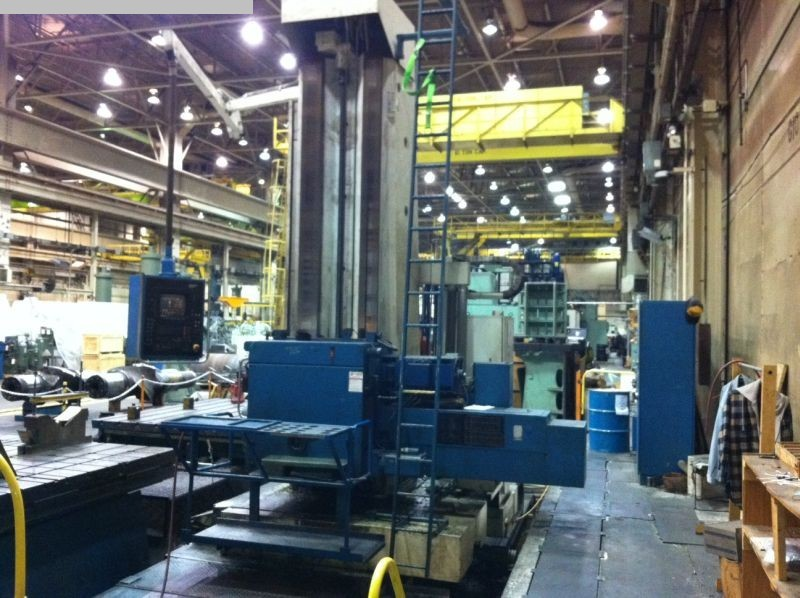 used Boring mills / Machining Centers / Drilling machines Floor Type Boring and Milling M/C - Hor. UNION BFP130 CNC
