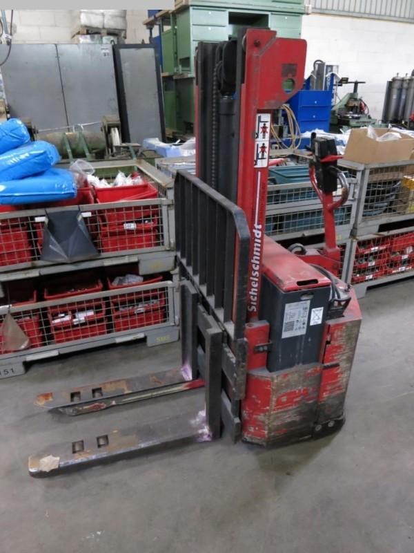 gebrauchte Werkstatteinrichtung / Betriebsausstattung Elektro - Hubwagen SICHELSCHMIDT 410.274.23174