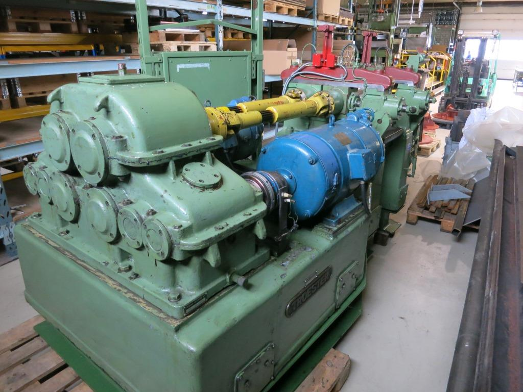 gebrauchte Gummiverarbeitungsmaschinen Kalander Troester KA 5183