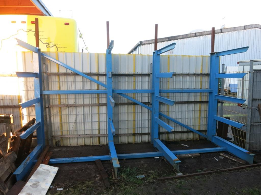 used Handling Cantilever type shelf