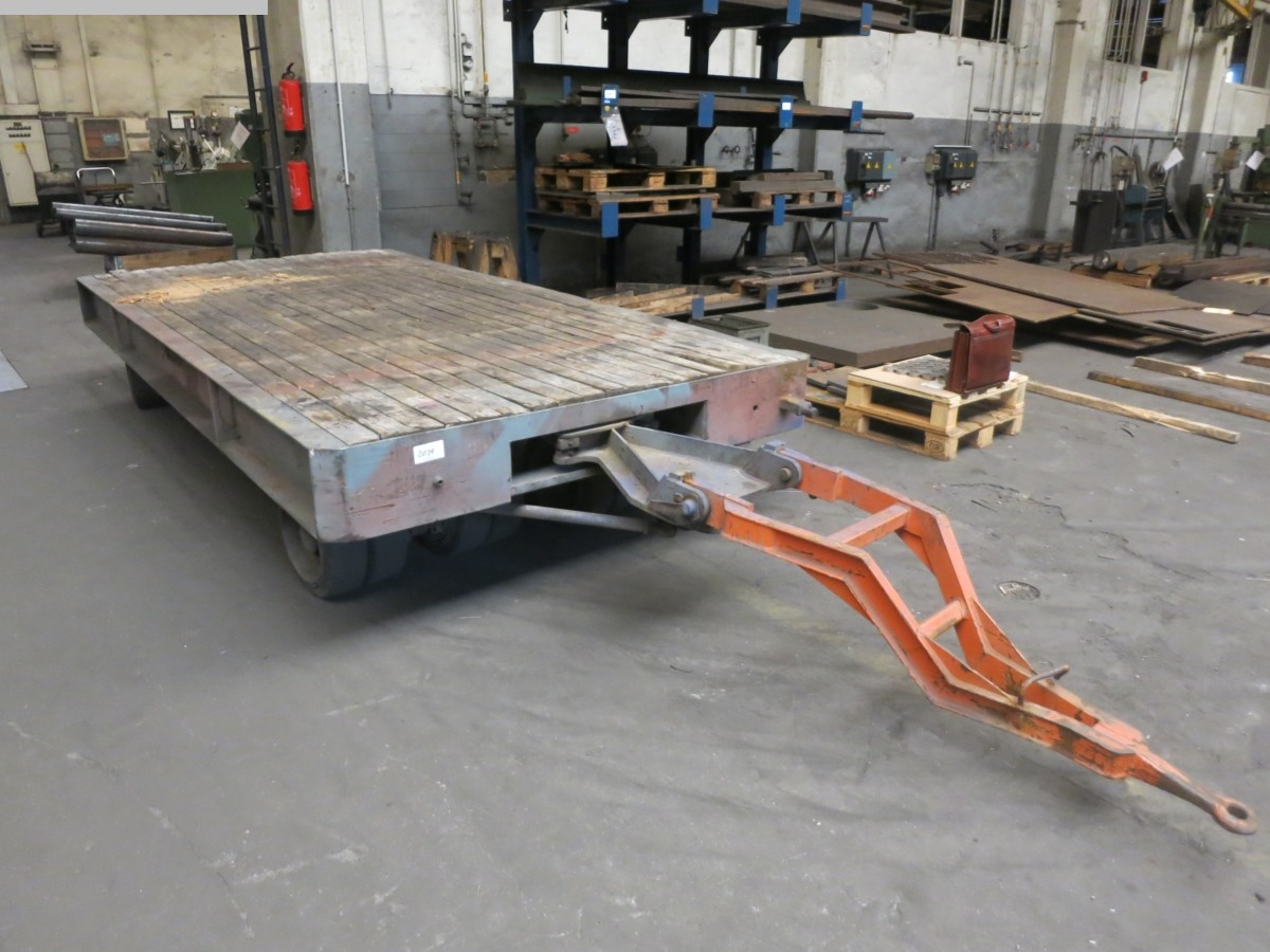 used Other attachments Heavy Goods Trailer
