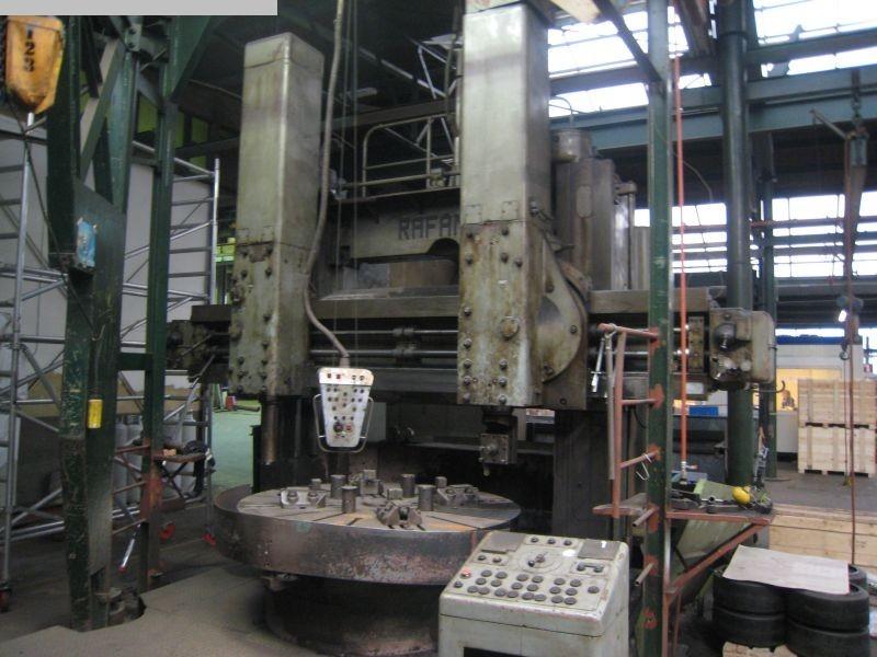gebrauchte Karusselldrehmaschine - Doppelständer RAFAMET KCG 200