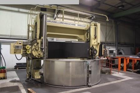 gebrauchte Karusselldrehmaschine - Doppelständer SEDIN 1L532