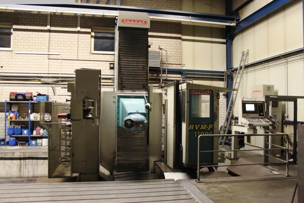 Freze makineleri ikinci el araç Gezici sütun frezeleme makinesi ANAYAK HVM 11000P