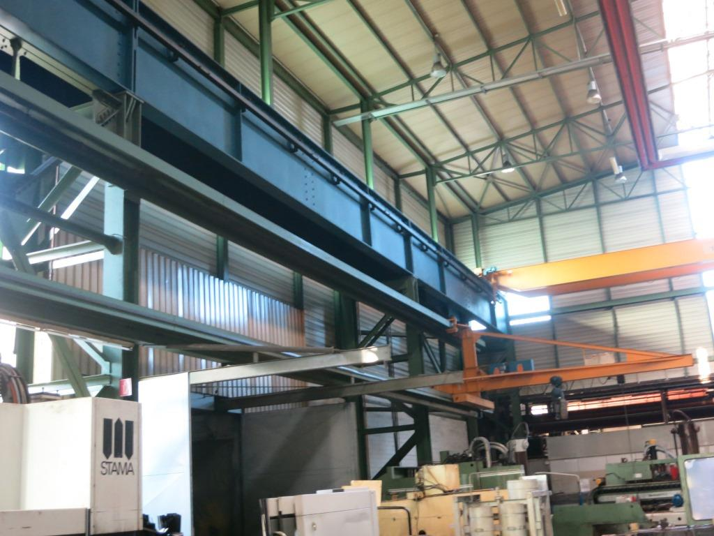 gebrauchte Förder- und Lagertechnik Krananlage Wilhelm Spiess 2 Tonnen