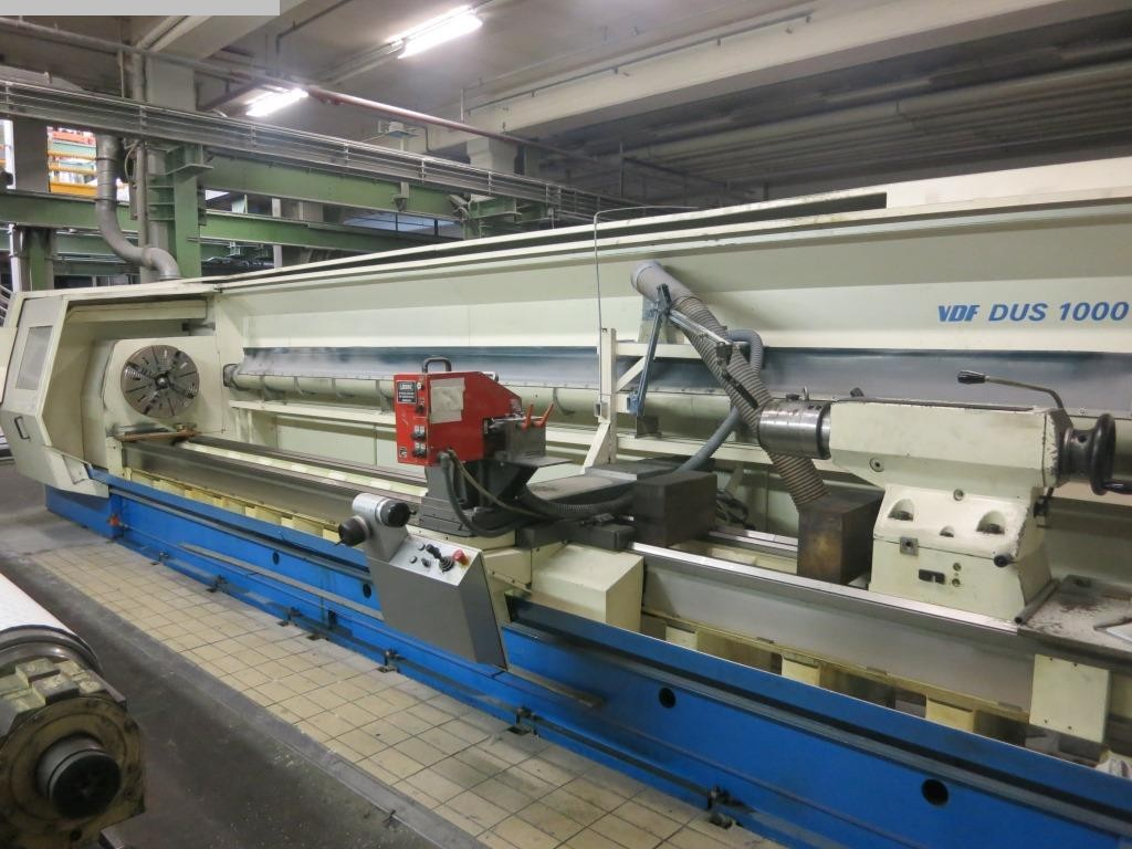 used Lathes Lathe -  cycle-controlled BOEHRINGER DUS 1000 Ti