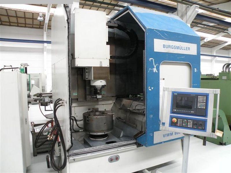 rabljeni glodalice / Strojni centri / Strojevi za bušenje Obradni centar - okomiti BURGSMUELLER VIWM 800_CNC