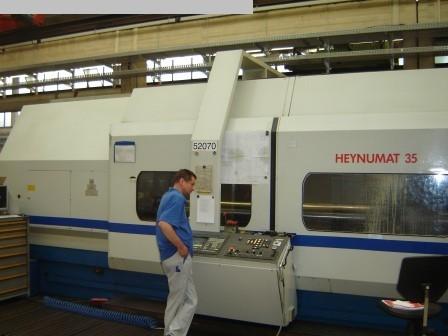 gebrauchte CNC Dreh- und Fräszentrum HEYLIGENSTAEDT HN35U/4000 Flex