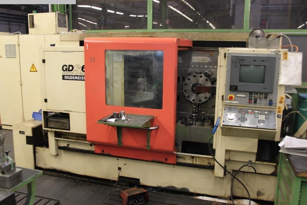 gebrauchte CNC Drehmaschine GILDEMEISTER GDS 65