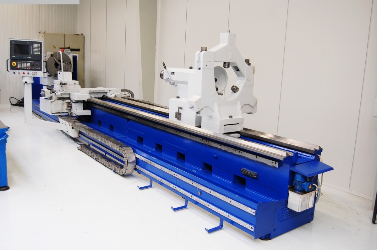 gebrauchte CNC Drehmaschine POREBA TRP 110 MN
