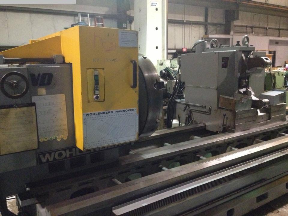 gebrauchte CNC Drehmaschine WOHLENBERG PTI U1070 S111