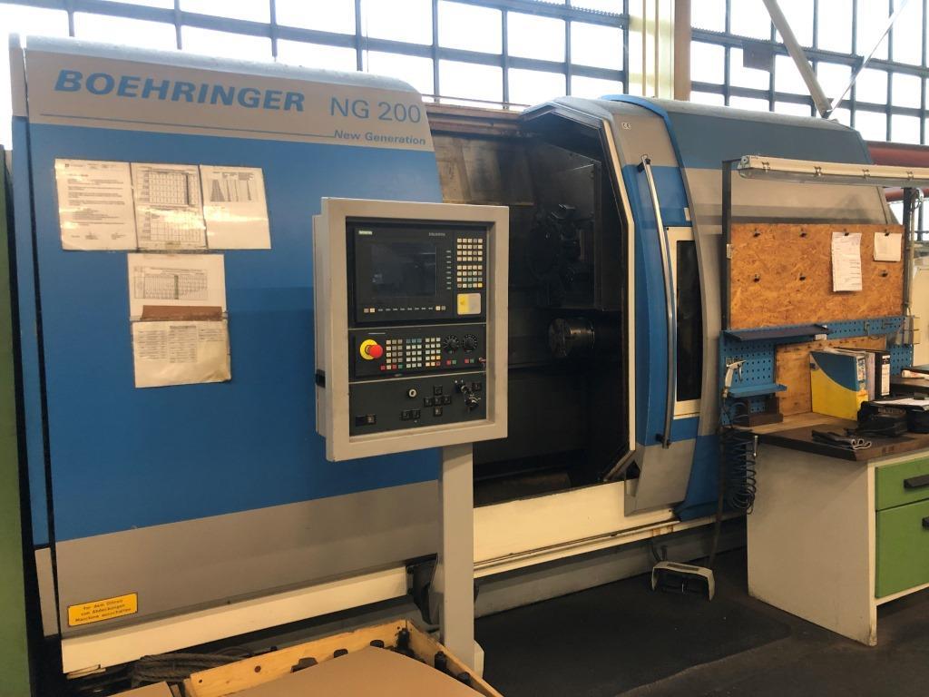 gebrauchte  CNC Drehmaschine - Schrägbettmaschine BOEHRINGER NG 200-2/2