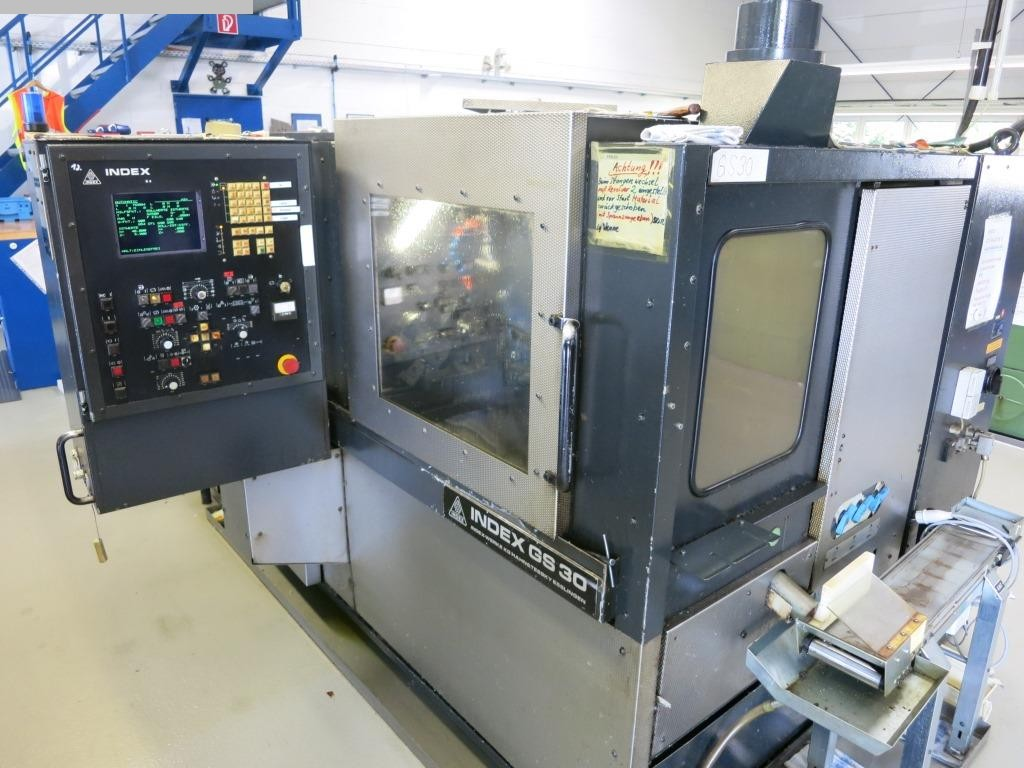 used  Bar Automatic Lathe - Single Spindle INDEX GS30