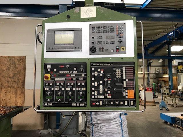 used Milling machines Milling Machine - Vertical DROOP & REIN FSM1255