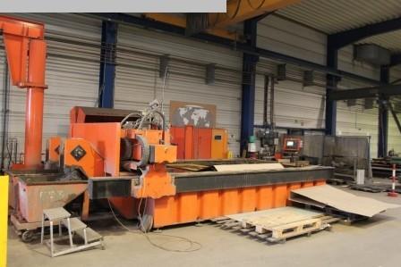Máquina de corte por chorro de agua para procesamiento de otros metales BYSTRONIC Byjett 4022