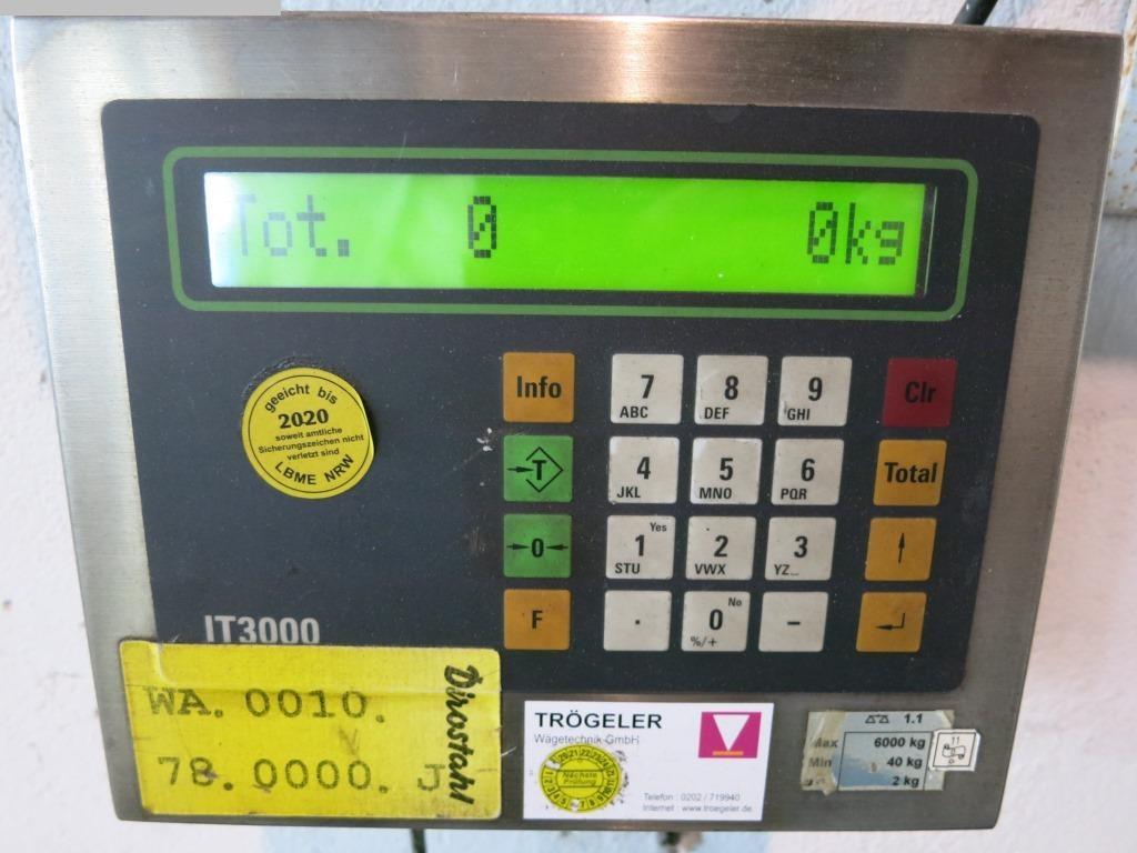 gebrauchte Pharma/Chemie/Kosmetik Bodenwaage Systec IT 3000