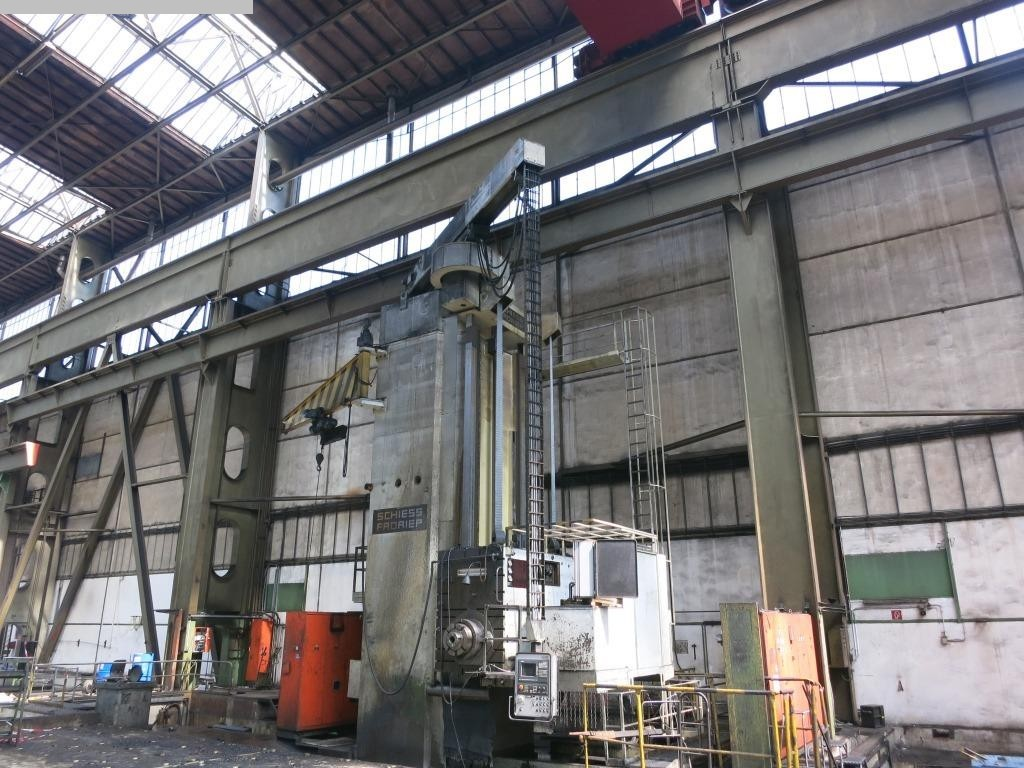 gebrauchte Bohrwerke / Bearbeitungszentren / Bohrmaschinen Plattenbohrwerk - Horizontal SCHIESS-FRORIEP 4FB 36/22,5 CNC