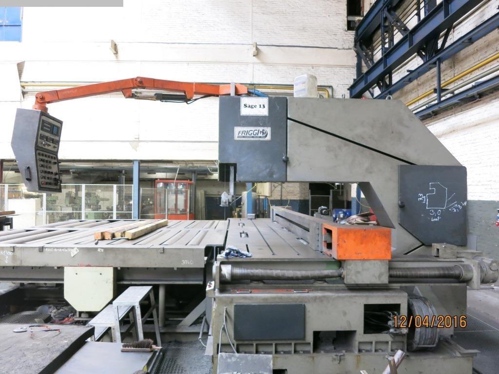 Máquinas aserradoras usadas Sierras de cinta para troncos FRIGGI VAS400x65x160