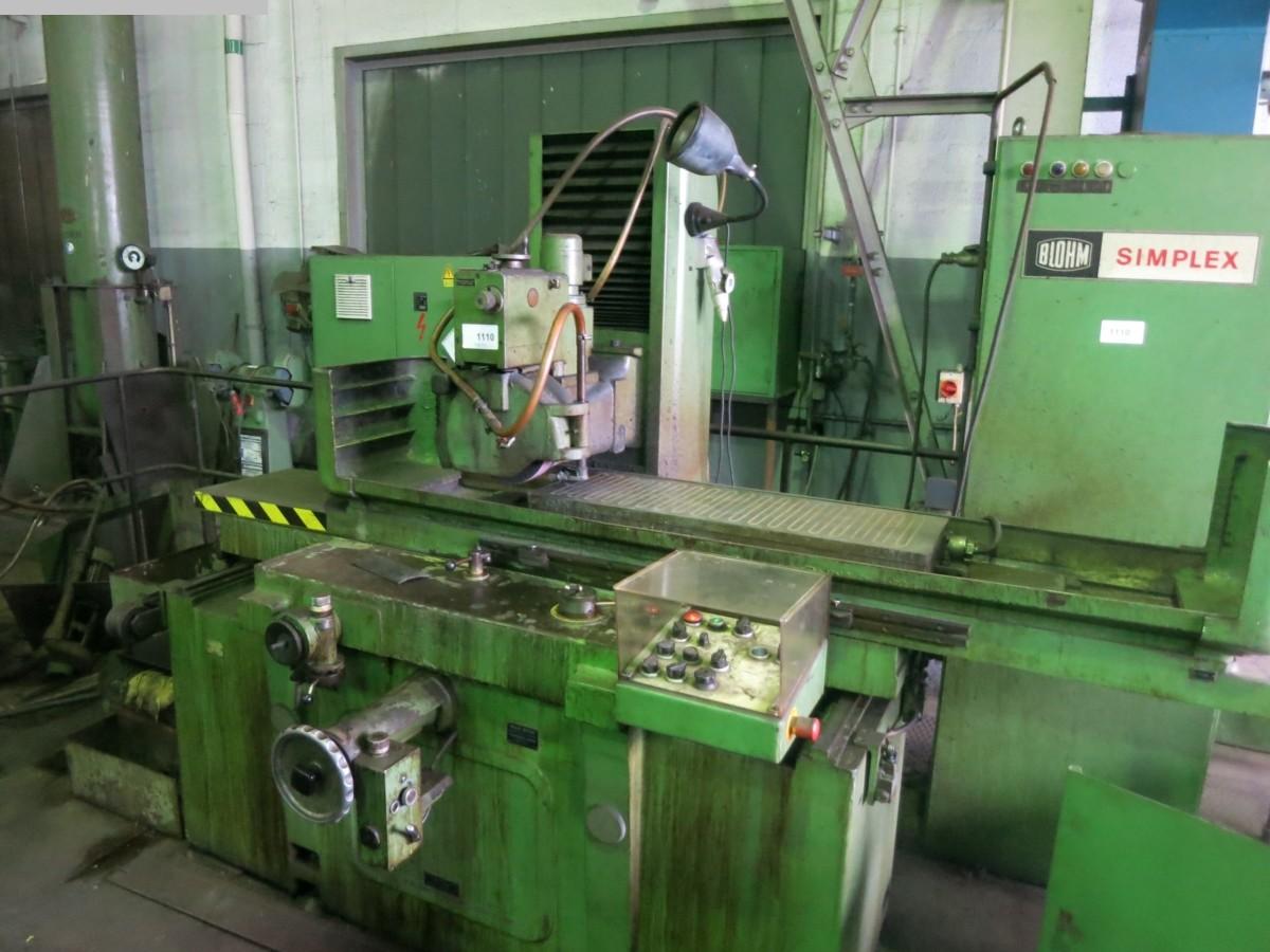 gebrauchte Schleifmaschinen Flachschleifmaschine BLOHM Simplex 9