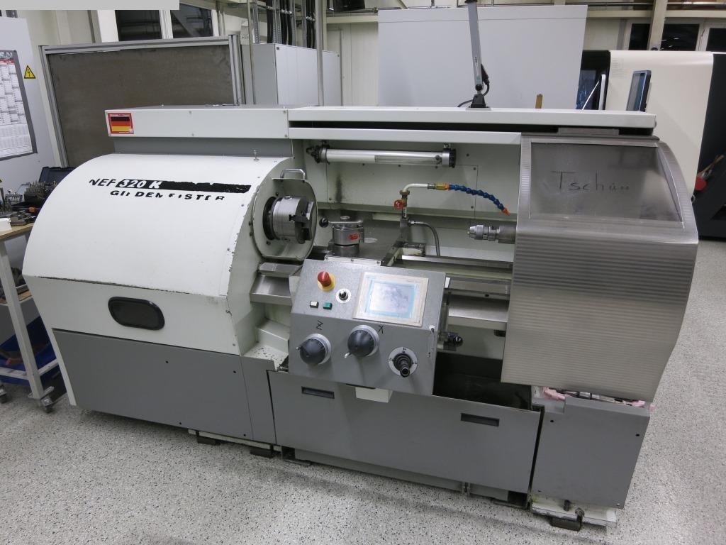 używane tokarki Tokarka - sterowana cyklicznie GILDEMEISTER NEF 320 K