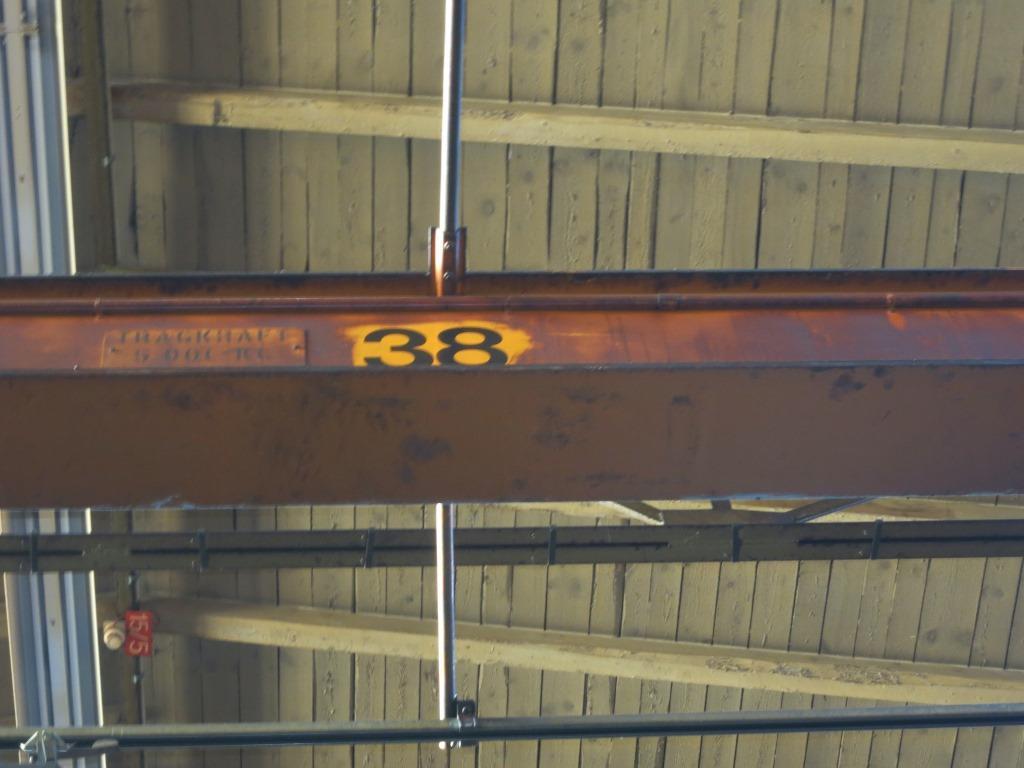 gebrauchte Sondermaschinen Brückenlaufkran - Einträger Gebrueder Dickertmann K 5095